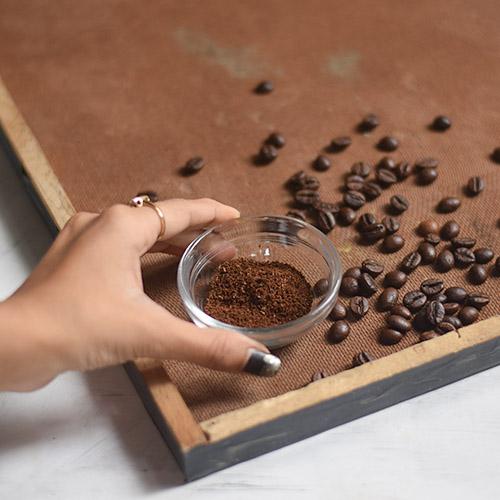 DIY Homemade Coffee Scrub for Hair
