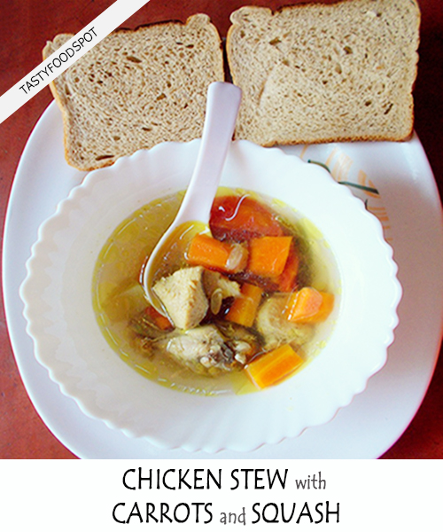Healthy And Tasty Chicken Stew Recipe