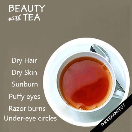 Amazing Beauty Benefits Of Tea
