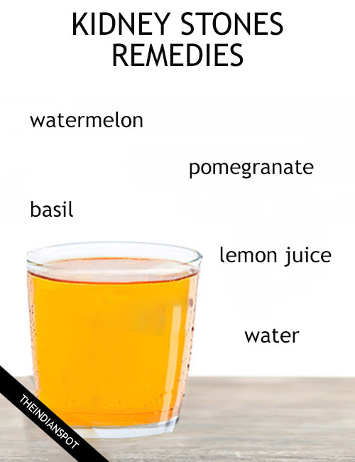Must Try Home Remedies For Kidney Stones The Indian Spot