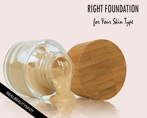 Choosing the right Foundation for your skin type