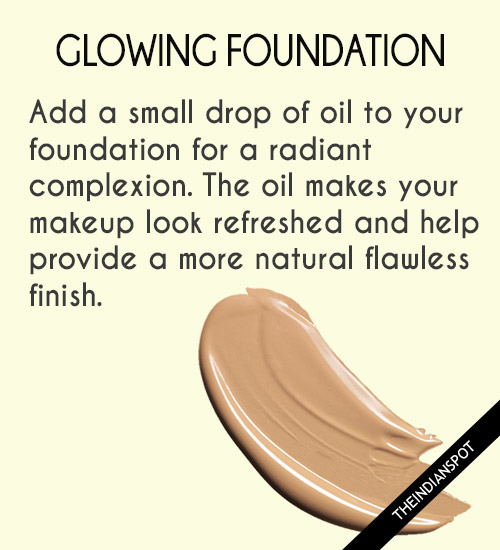 drop of oil is all you need for a radiant complexion