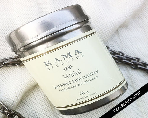 KAMA AYURVEDA MRIDUL SOAP-FREE FACE CLEANSER REVIEW
