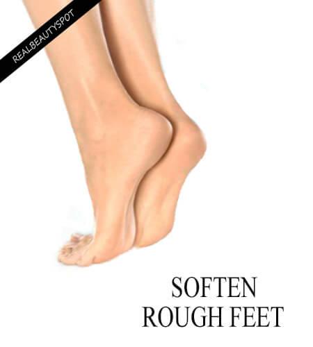 Easy ways to Soften Dry Rough Heels