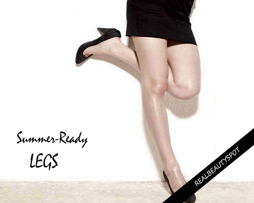 10 Steps to Summer-Ready Legs