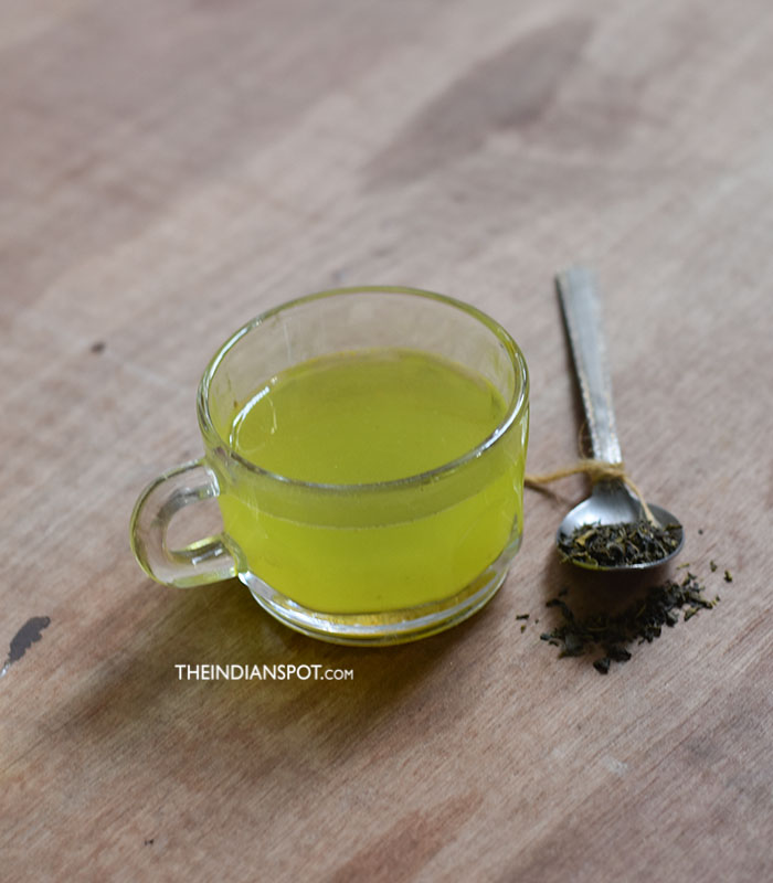 Ginger Green Tea Flat Belly Drink Recipe
