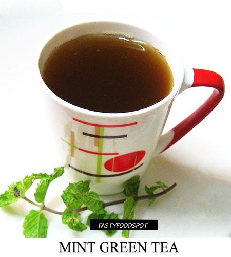 Flavorful Mint Green Tea Recipe
