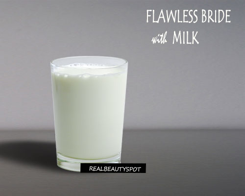 GET FLAWLESS SKIN WITH MILK