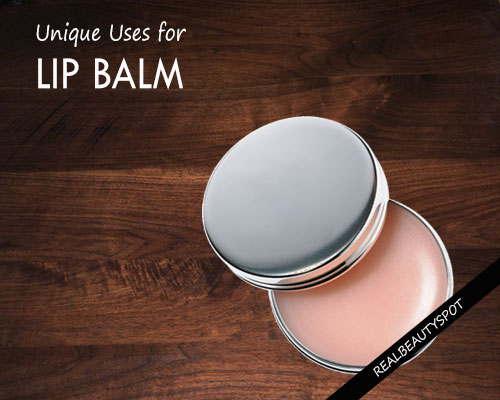 Surprising Uses for Lip Balm Other than on Your Lips