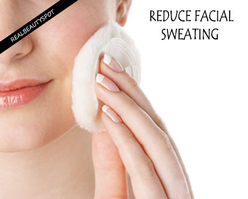 Cure for excessive facial sweating
