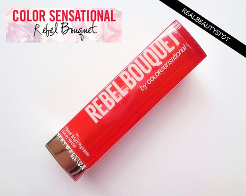 MAYBELLINE COLOR SENSATIONAL REBEL BOUQUET LIPSTICK IN REB07