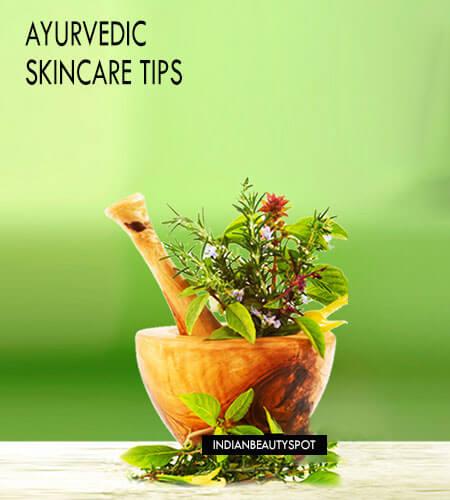 AYURVEDIC SKINCARE TIPS FOR HEALTHY & GLOWING SKIN