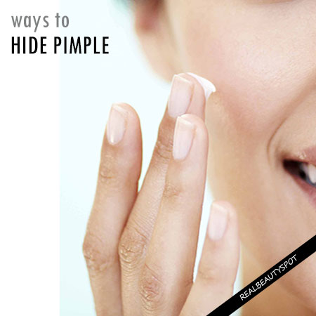 HOW TO HIDE ACNE WITH MAKEUP