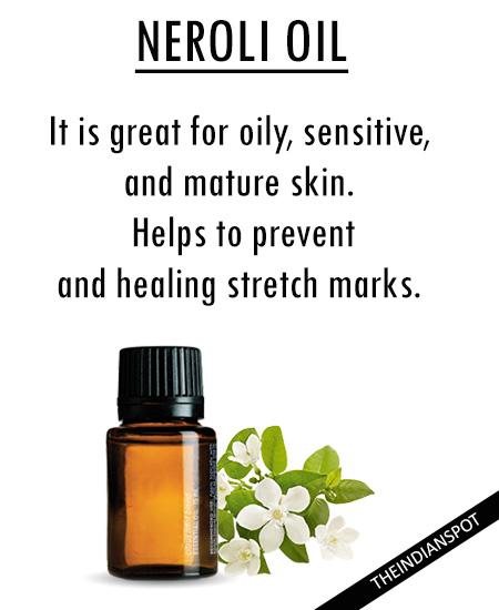 Best Essential Oils for skincare - neroli