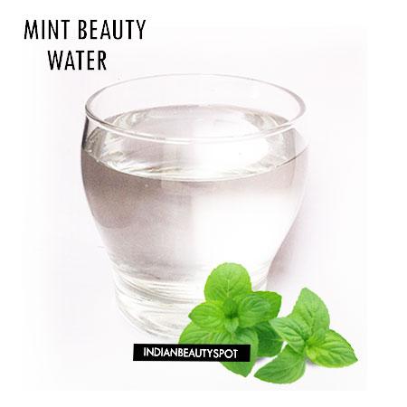 MINT BEAUTY WATER RECIPE
