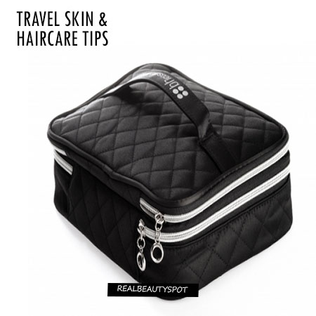 TRAVEL SKIN AND HAIRCARE TIPS