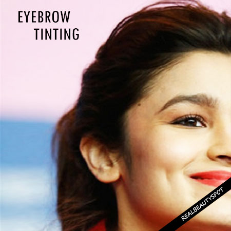 ALL YOU NEED TO KNOW ABOUT TINTING AN EYEBROW