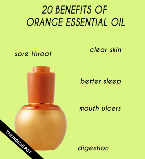 20 BENEFITS OF ORANGE ESSENTIAL OIL