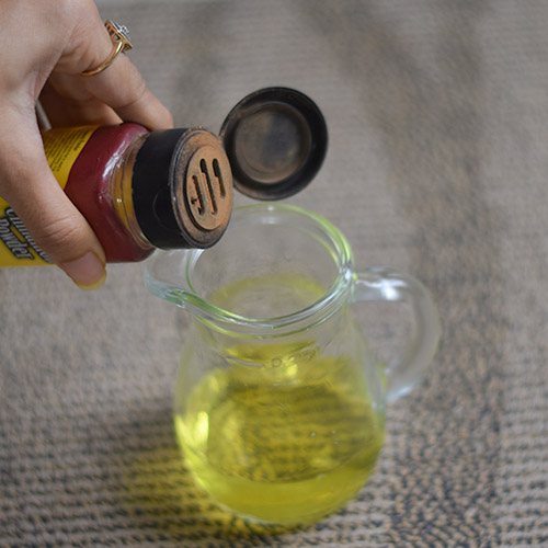 Cinnamon Shampoo to remove product build up