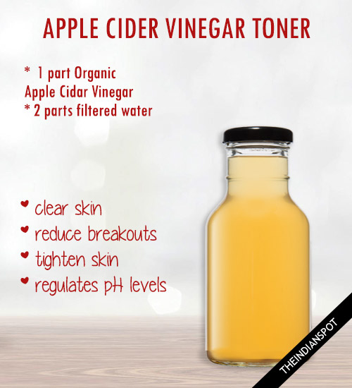 CLARIFY YOUR SKIN WITH VINEGAR