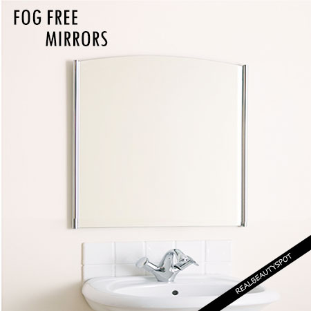 SIMPLE WAYS TO KEEP YOUR MIRRORS FOG FREE