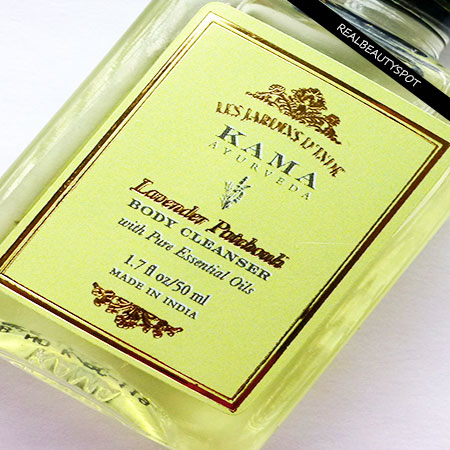 KAMA AYURVEDA LAVENDER PATCHOULI BODY CLEANSER REVIEW