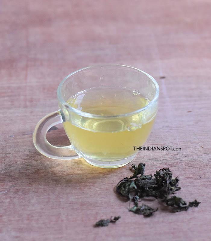 Peppermint tea FOR MENSTRUAL CRAMPS