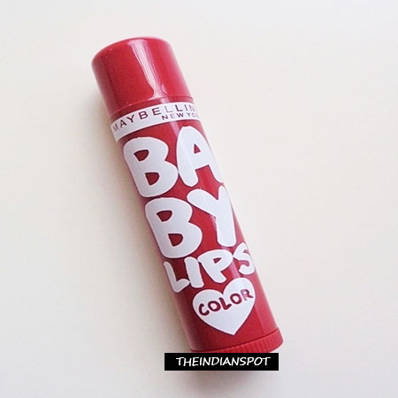 MAYBELLINE BABY LIPS SPICED UP IN BERRY SHERBET REVIEW