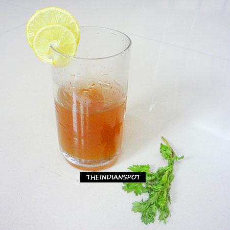 DIY PARSLEY TEA