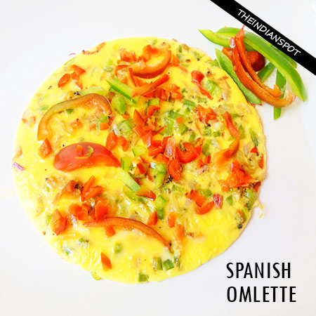 SPANISH OMLETTE RECIPE- AN EASY AND HEALTHY DISH
