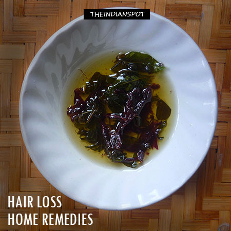 Top Home remedies for hair loss