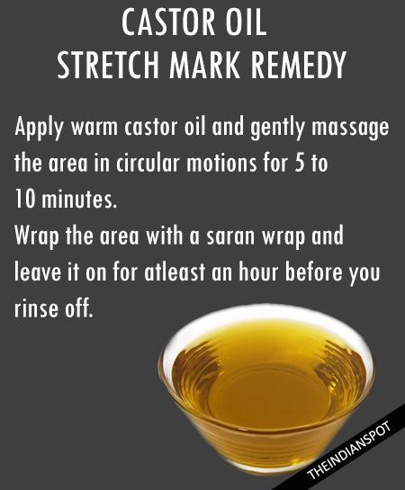 Organic Castor oil for stretch marks