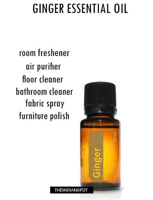 8 EXCITING WAYS TO USE GINGER ESSENTIAL OIL IN YOUR HOME