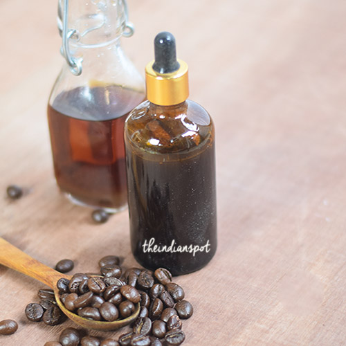 DIY COFFEE HAIR OIL FOR HAIR GROWTH