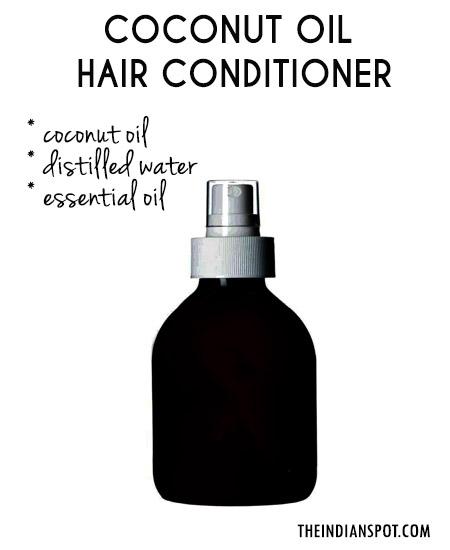 DIY Oil leave in conditioner
