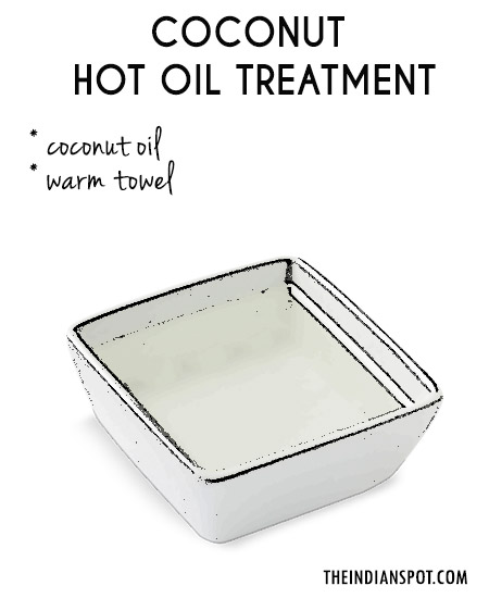 COCONUT OIL – HAIR SPA TREATMENT