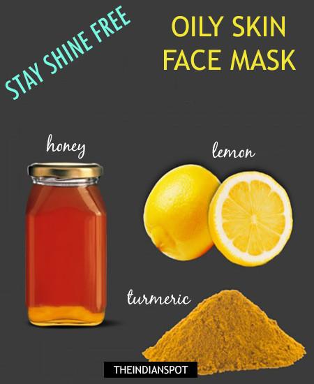 Turmeric Skin Treatments for Oily Skin -