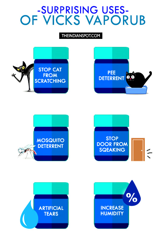 SURPRISING USES OF VICKS VAPORUB