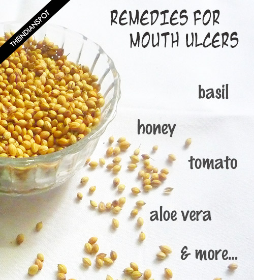 10 HOME REMEDIES FOR MOUTH ULCER