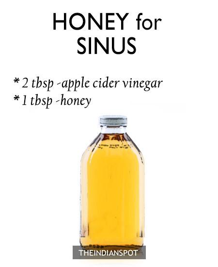 HONEY FOR SINUS