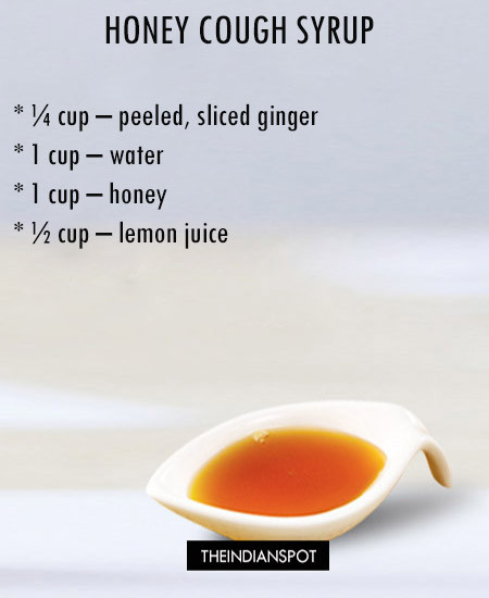 5 BEST HOMEMADE COUGH SYRUP RECIPES