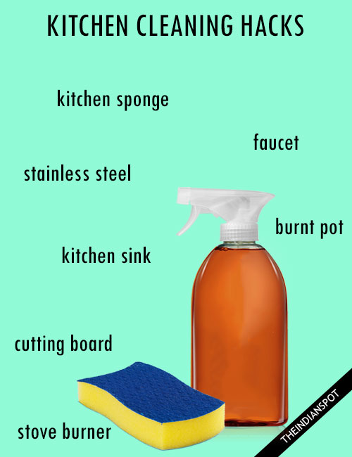 10 Awesome Kitchen Cleaning Hacks
