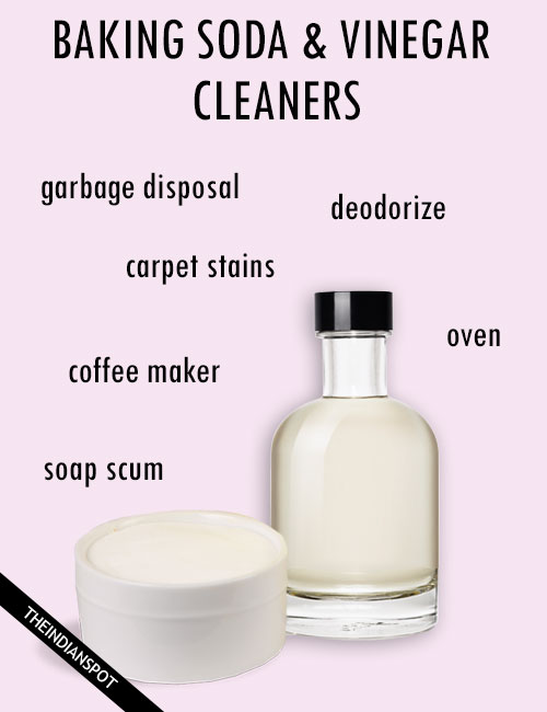 Clean Your Whole House With Vinegar and Baking Soda