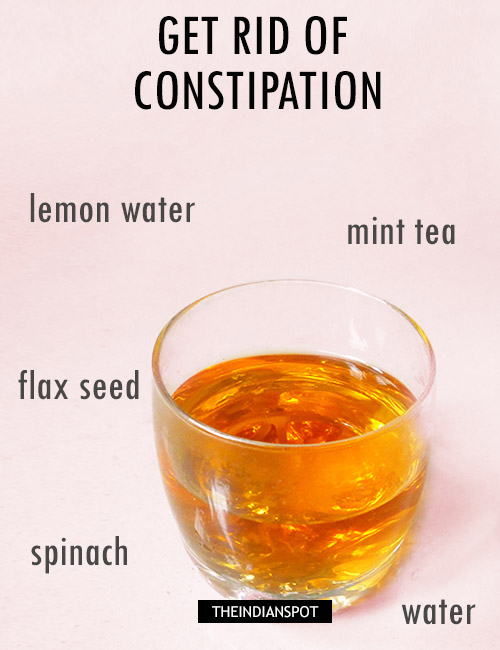 BEST DRINKS TO RELIEVE CONSTIPATION QUICKLY AND NATURALLY - THE