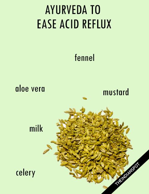AYURVEDIC TIPS TO EASE ACID REFLUX