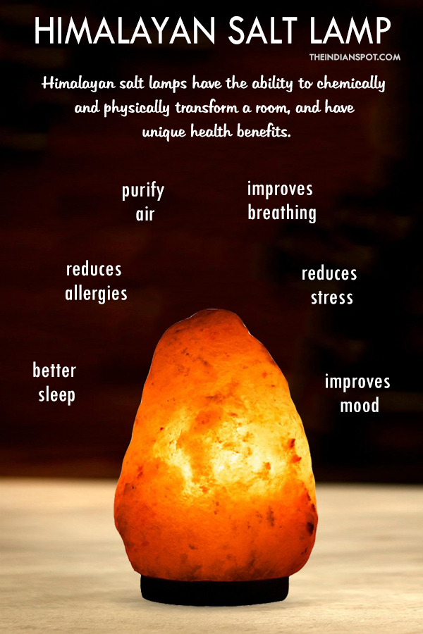 Himalayan Salt Lamps Important Benefits For Your Home