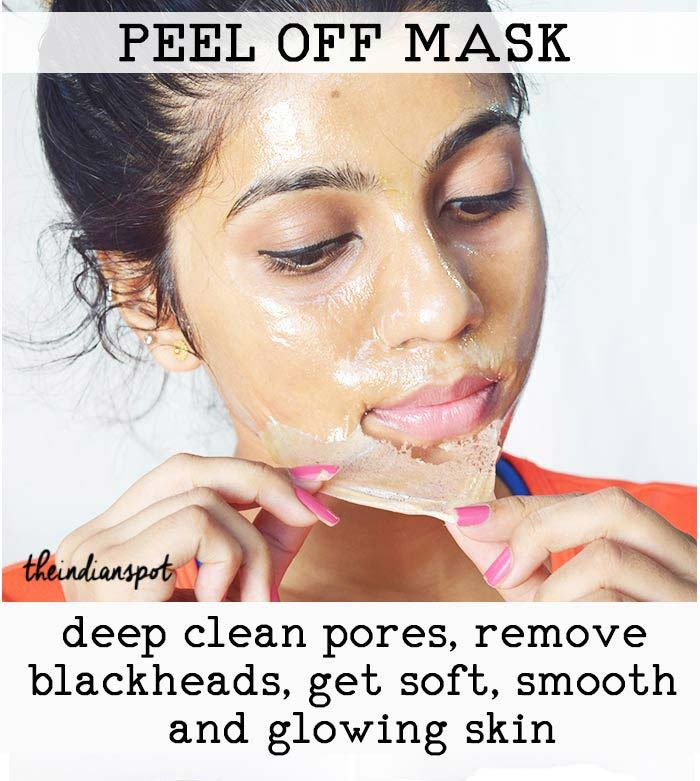 3 diy pore strips and peel off mask to deep clean pores and clear 1diy blackhead remover peel off mask solutioingenieria Choice Image