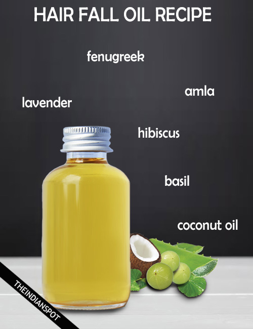 Homemade Oil Recipes To Reduce Hair Fall The Indian Spot