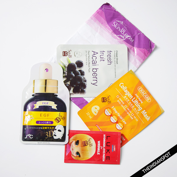 SKIN 18 PRODUCTS REVIEW