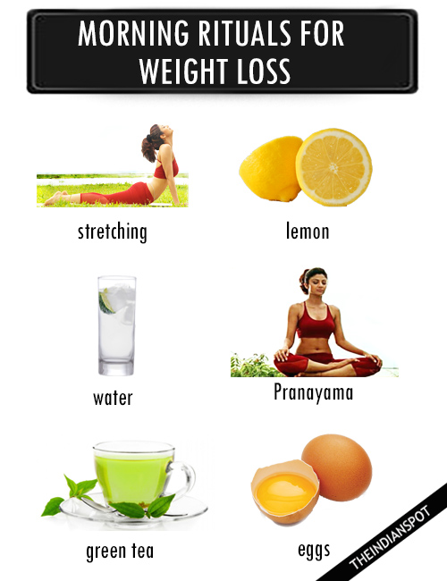 MORNING RITUALS FOR SUCCESSFUL WEIGHT LOSS